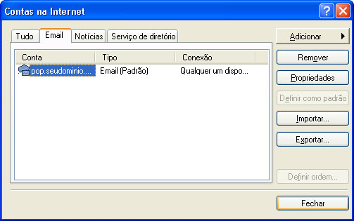 Configurar MS Outlook 8