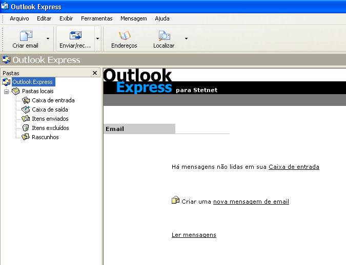 Configurar MS Outlook 10