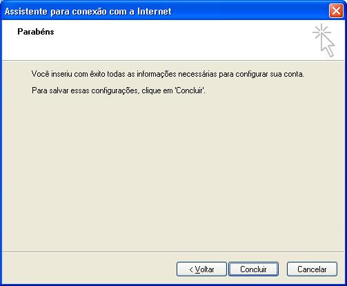 Configurar MS Outlook 7